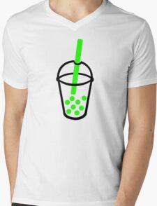 Bubble Tea Mens V-Neck T-Shirt