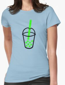 Bubble Tea Womens Fitted T-Shirt
