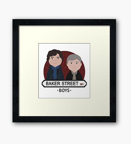 Sherlock - Baker Street Boys Framed Print