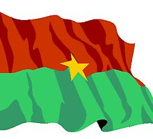 Burkina Faso Flag by kwg2200