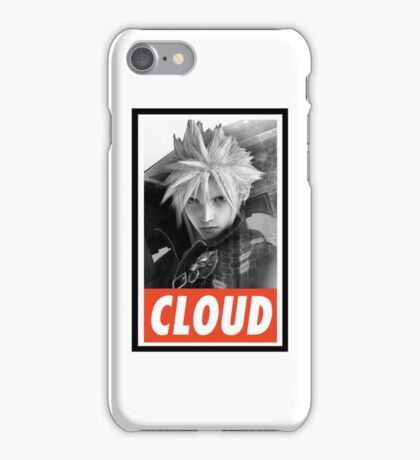 -FINAL FANTASY- Cloud Strife Final Fantasy VII iPhone Case/Skin