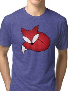 Sleepy Little Fox Tri-blend T-Shirt