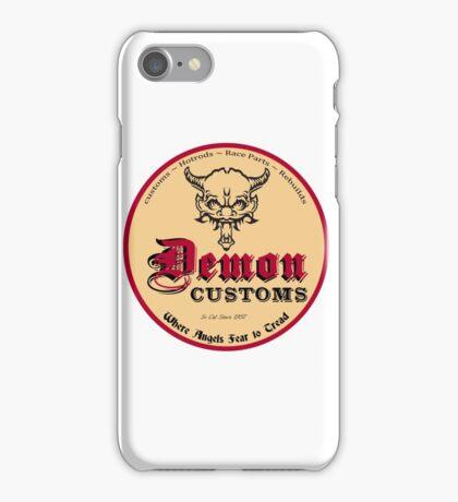 Hot Rod Custom T-shirt iPhone Case/Skin