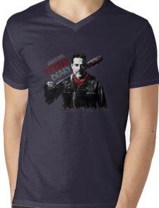 The Walking Dead - Negan - freaky deaky Mens V-Neck T-Shirt