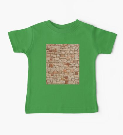 STONE WALL, Rock and a hard Place, Rough, Tough, Hard, textures, Hit a brick wall Baby Tee