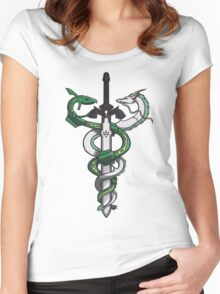 Dragon Sword Women's Fitted Scoop T-Shirt