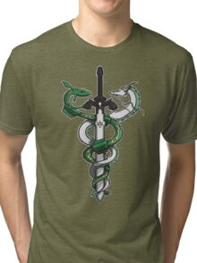 Dragon Sword Tri-blend T-Shirt