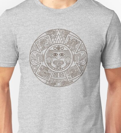 Mayan Circle Unisex T-Shirt