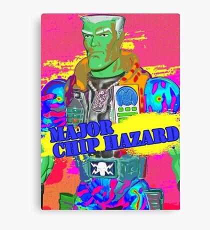 Major Chip Hazard Canvas Print