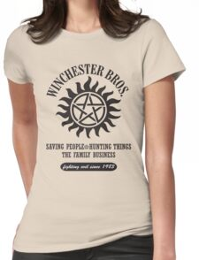 SUPERNATURAL - WINCHESTER BROTHERS Womens Fitted T-Shirt