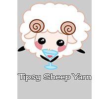 Tipsy Sheep Yarn! Photographic Print