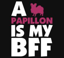 A PAPILLON IS MY BFF by 2E1K