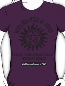 T-SHIRT SUPERNATURAL WINCHESTER & SONS T-Shirt