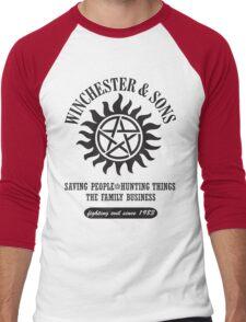 T-SHIRT SUPERNATURAL WINCHESTER & SONS Men's Baseball ¾ T-Shirt