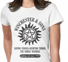 T-SHIRT SUPERNATURAL WINCHESTER & SONS Womens Fitted T-Shirt