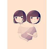 Sisters Photographic Print