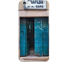 Doors of Bolivia - The Chaplin Cafe iPhone Case/Skin