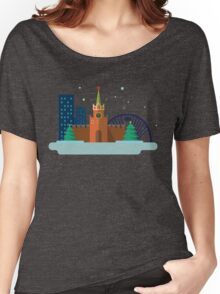 Moscow item graphic Women's Relaxed Fit T-Shirt