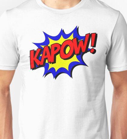 Comics - Kapow Unisex T-Shirt