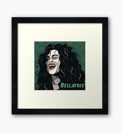 Bellatrix Lestrange Framed Print