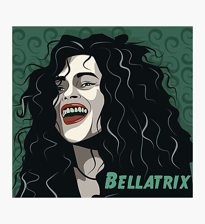 Bellatrix Lestrange Photographic Print
