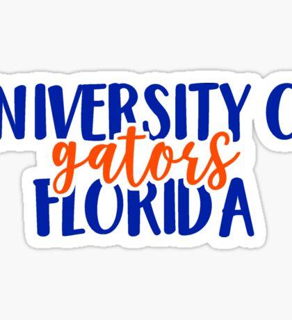 University of Florida - Gators Sticker