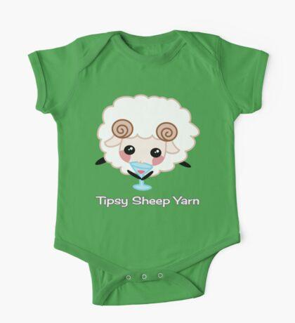 Tipsy Sheep Yarn! One Piece - Short Sleeve