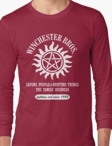 SUPERNATURAL - WINCHESTER BROTHERS SINCE 1983 Long Sleeve T-Shirt