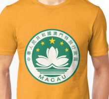 MACAU-EMBLEM Unisex T-Shirt