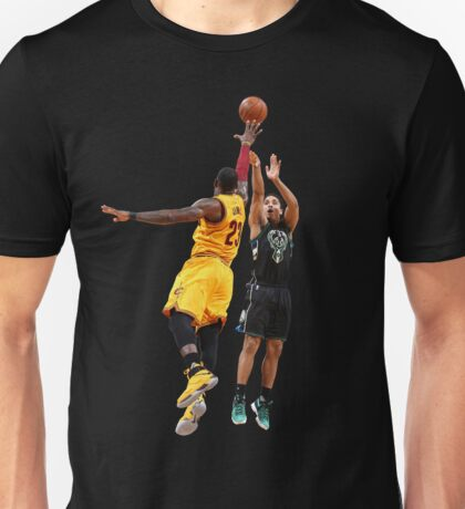 Malcolm Brogdon Dunk on LeBron James Funny T-Shirt Unisex T-Shirt