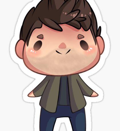 Tiny Dean Winchester Sticker