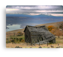 Collapsing on a View Canvas Print