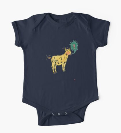 G is for Goat! One Piece - Short Sleeve