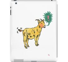 G is for Goat! iPad Case/Skin