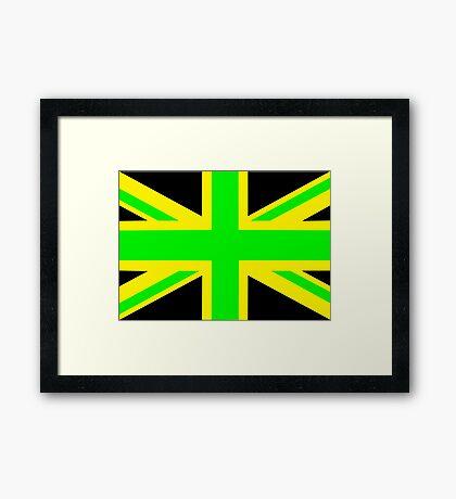 Jamaica/UK Framed Print