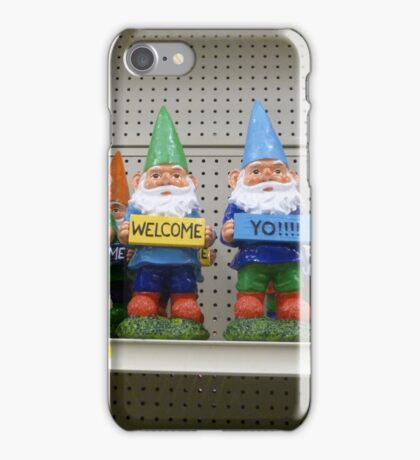 Gnomes Greet You iPhone Case/Skin