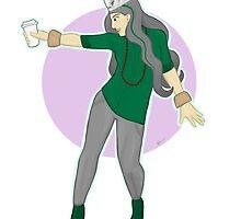 The Incredible Coffee Girl by Zoe Swann