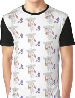 Lillie (Pokemon S&M) and Splatoon Crossover Graphic T-Shirt