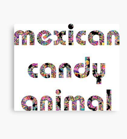 Mexican Candy Animal Canvas Print