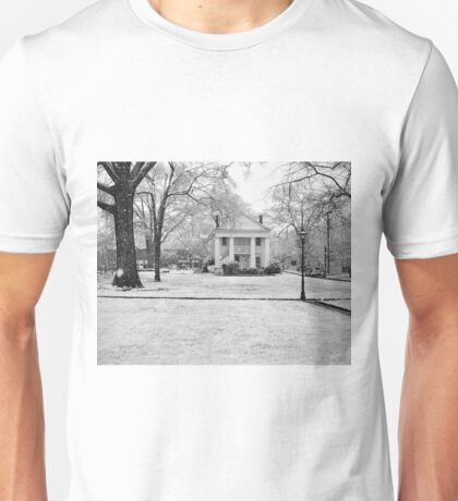 Winter On Town Square Unisex T-Shirt
