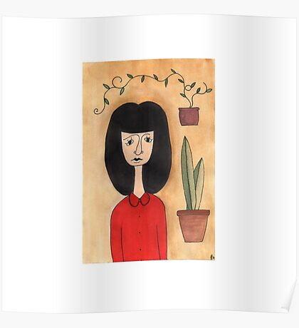 Plant Lady Poster