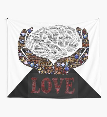 Meditation/ Love Wall Tapestry