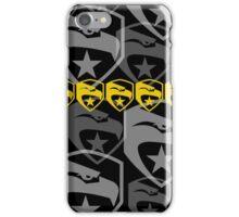 The Iconic G.I.Joe (black) iPhone Case/Skin