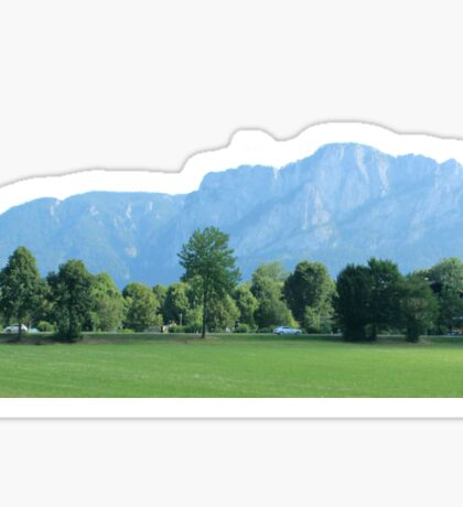Austrian Mountains Sticker