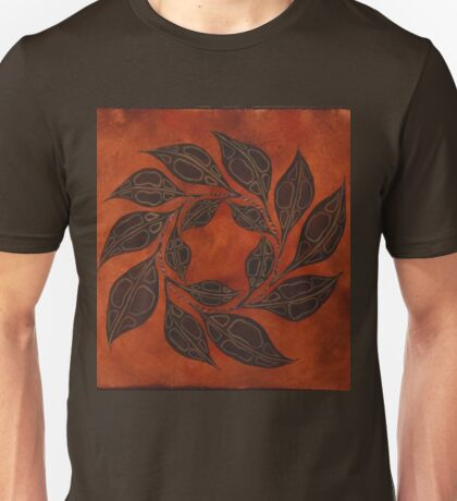 Leaf Pentagram Unisex T-Shirt