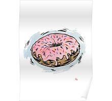 D is for Doughnut! Poster