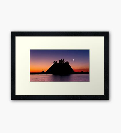 Sunset at First Beach - La Push .2 Framed Print