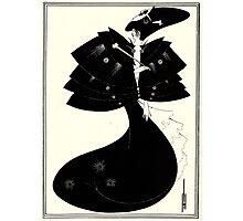 The Black Cape Photographic Print
