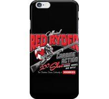 Ralphie's Red Ryder BB Gun!  Dark colored garments iPhone Case/Skin