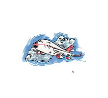 A is for Aeroplane! Photographic Print